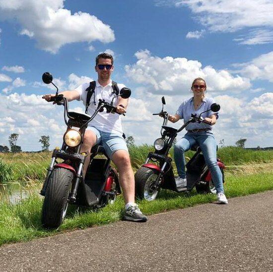 E-chopper huren in Utrecht? Kom naar Going on Wheels